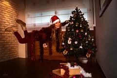 Christmas time! (chyky9) Tags: nikon nikond7200 nikonistas happiness christmas navidad lights colors tree holidays me fly girl unreal red rojo home fantasy playing smile smiling