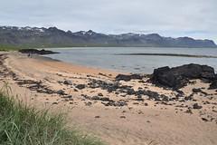 The Beach (EC@PhotoAlbum) Tags: islanda iceland landscape paesaggio snaefell snaefelljokull snaefellsnesspeninsula beach spiaggia nature