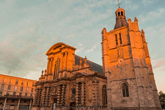 Cathdrale du Havre au Soleil couchant (jrmydavoine) Tags: cathdrale glise church notredame lehavre hdr