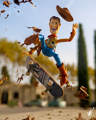 The Cowboy loves Autumn! (SuppaDuppa666) Tags: toyphotography actionfigure hottoys shfiguarts lego marvel disney toptoyphotos toyslagram epictoyart toygroupalliance toycrewbuddies toyspotcollector stuckinplastic exclucollective kaiyodo revoltech woody toystory skate