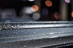 Wet Car (Evan's Life Through The Lens) Tags: camera sony a7s lens glass 50mm f18 fe af wet rain dark night work day water drop dropplets bokeh light vibrant color beautiful exposure macro autumn cold wind 2016
