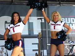 IMG_6990 (grooverman) Tags: houston texans cheerleaders nfl football game nrg stadium texas 2016 budweiser plaza nice sexy legs stomach canon powershot sx530