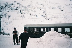 Flam Railway (charlottelptaylor) Tags: norway film 35mm train flam snow travel