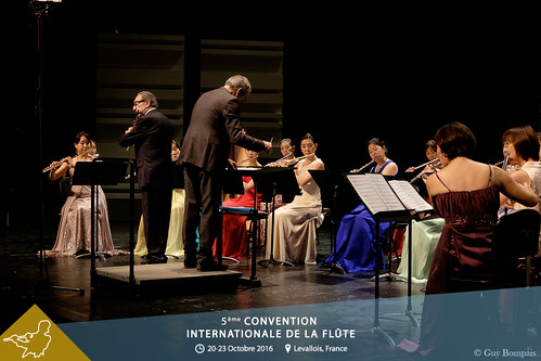 Concert de Cloture avec UNIVERSAL FLUTE ORCHESTRA JAPAN, Maxence Larrieu et Philippe Bernold