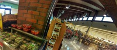 stuffing, Lucky, Mowry Avenue at Blacow Road, Fremont, November 26, 2016 (/\/\ichael Patric|{) Tags: grocerystore groceries market supermarket lucky luckysupermarkets shopping retail store food stuffing brick refrigerated interior architecture windows clerestory ceiling afternoon saturday panorama bimostitch 99 geotagged geo:lat=37534872 geo:lon=121997562 fremont fremontcalifornia alamedacounty alamedacountycalifornia eastbay sanfranciscobayarea sfbayarea bayarea northerncalifornia california westcoast michaelpatrick november2016 november 2016 address:street=mowryavenue address:postalcode=94538 address:city=fremont address:state=california address:country=unitedstatesofamerica address:continent=northamerica