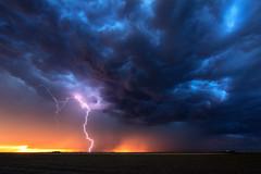 Under the Wave (Mike Olbinski Photography) Tags: 20160530 canon1124mmf4 canon5dsr farms hail kansas leoti lightning rain shelfcloud sunset thunderstorm whalesmouth