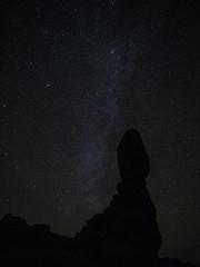 Milky Way (Michael Zahra) Tags: america usa utah night sky star stars milkyway arches national park rock silhouette 645 645z pentax ricoh ricohimaging longexposure