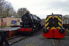 An American in Telford (Alastair Wood) Tags: telfordsteamrailway alco mikado train