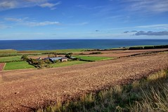 The countryside at Old Cambus, Berwickshire, Scotland (Baz Richardson (catching up again!)) Tags: scotland berwickshire oldcambus landscapes farmland coast northsea
