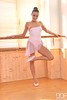 Pink (terpsicore84) Tags: babe leg finger flexible barefeet ballet slippers balletslippers