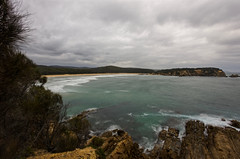 View from lookout platform (jack eastlake) Tags: mimosa rocks national park nikon d810 1735mm wide angle far south coast tathra nsw moon bay bega valley shire