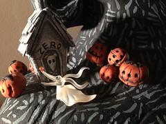 My Nightmare Before Christmas handmade village pieces (gammaraybots / tom torrey) Tags: nightmarebeforechristmas jack sally thisishalloween burton halloween halloweentown robots gammaraybots robotswebe