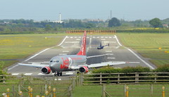 Jet2 737 (Zorro Photography) Tags: newcastle holidays boeing ncl jet2