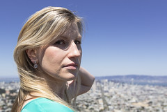 (Kelly Mermelstein) Tags: sanfrancisco blue portrait green fashion museum hair de eyes dress young twin blond peaks