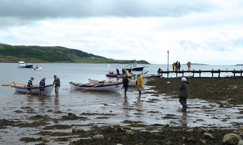 skiffs at tighnabruaich