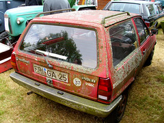 VW Polo II 86c Steilheck 'Fox' (Zappadong) Tags: vw barn rat ii fox ratte polo find bockhorn 2013 barnfind ratlook scheunenfund 86c steilheck