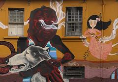 Serto (feikehara YANTRA) Tags: mural santana parabola sesc parquia muralismo coletivo parbola feikehara