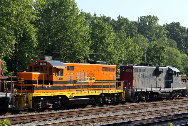 Kentucky West Tennessee (KWT)  Railroad (New & Old)