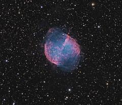 M27 (Daniele Malleo) Tags: sky stars telescope nebula astrophotography qsi nebulae narrowband Astrometrydotnet:status=solved Astrometrydotnet:id=supernova308