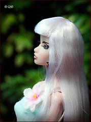 Alisa (astramaore) Tags: beauty fashion toy glamour doll erin longhair scene greeneyes blonde chic making royalty whitehair fulllips fashionroyalty straightlonghair
