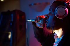 DJ Q-Focus at the Mic