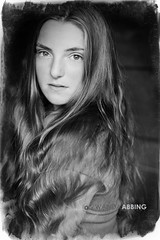 Hair 201/365 (Wanda Abbing Photography) Tags: portrait blackandwhite bw canon rebel 50mm f14 sigma naturallight 50mm14 365 50 sl1 day201 50f14 100d exposure5 canon100d sigma50f14 day201365 3652013 365the2013edition canonrebelsl1 20jul13