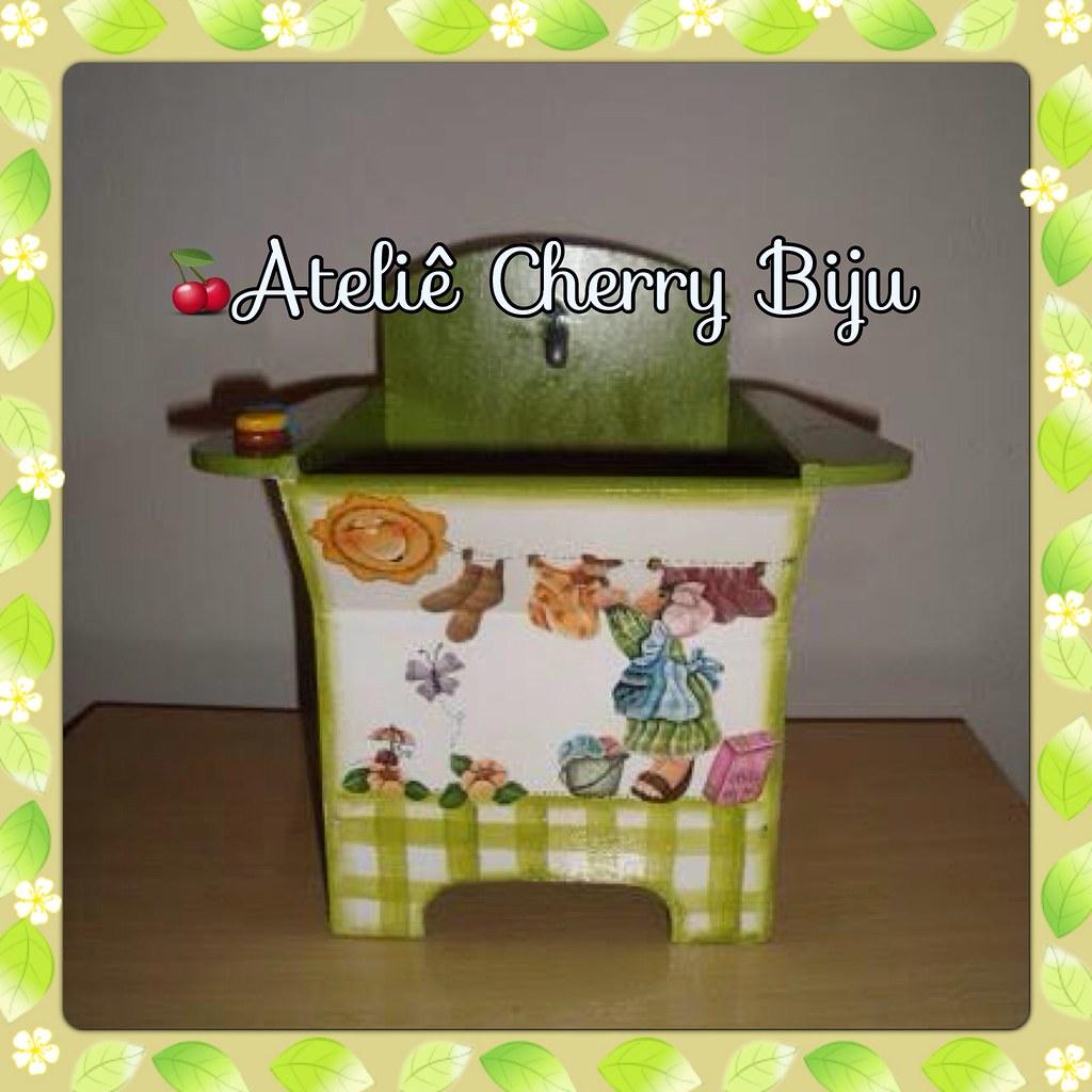 Biju (ateliecherrybiju) Tags: artesanato biscuit reciclagem madeira  #90B417 1024x1024