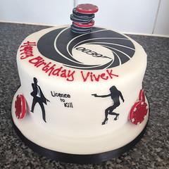 Bond Casino Royale Cake