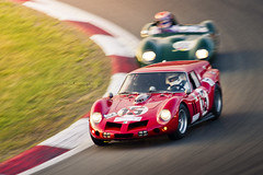 Ferrari Breadvan (PGDesigns.co.uk) Tags: old sunset motion blur race time ferrari panning circuit gp nurburgring breadvan 2013 pgdesigns