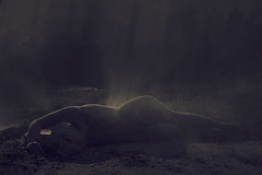 Sleeping soul (Lotte Hansen) Tags: world light portrait woman inspiration cold art girl beautiful beauty norway canon dark naked nude europe arts inspired brooke norwegian dirt conceptual hansen shaden conceptualphotography missaniela lottehansen brookeshaden lottehansenphotography