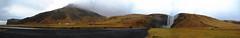 Skgafoss Panorama (Nordfjall) Tags: panorama mist mountains waterfall iceland sland icelandic skgafoss skogafoss