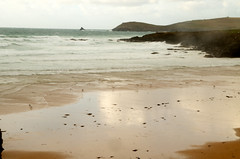 On the shore (Kon Sid) Tags: ocean sea england seagulls beach cornwall unitedkingdom shore