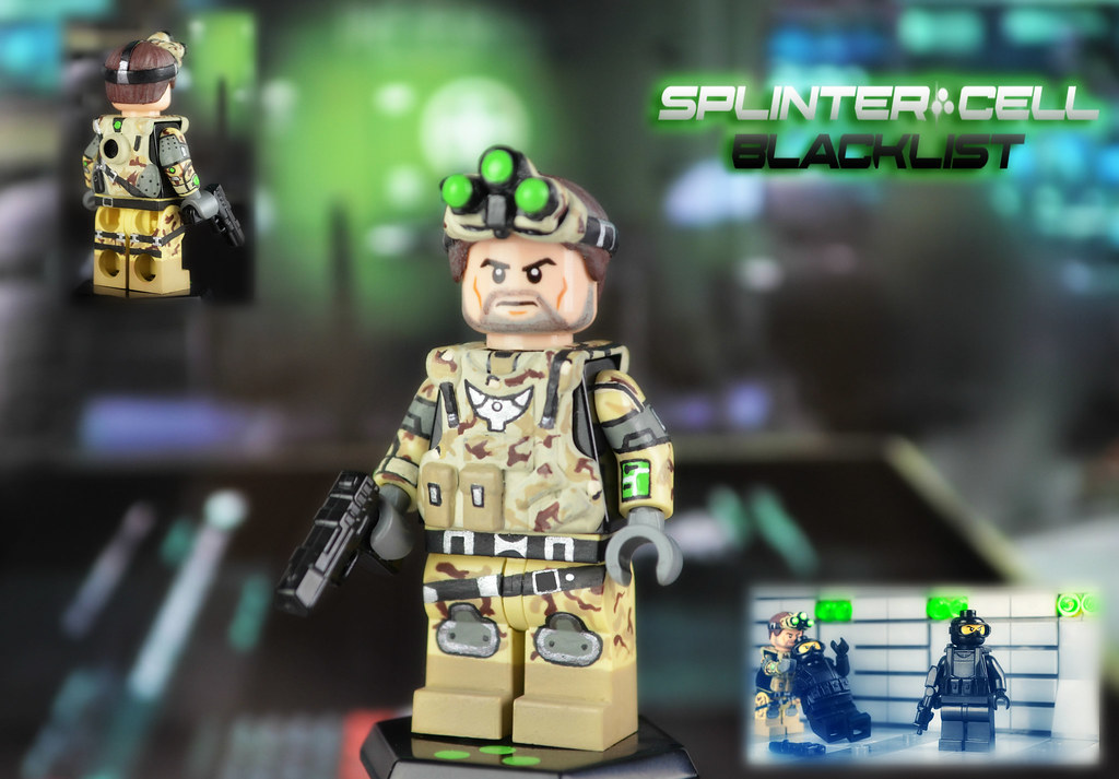 The world 39 s most recently posted photos of clancy and lego flickr hive mind - Splinter cell grim ...