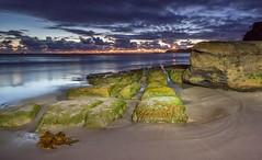 Lit up at Jenny. (archie0) Tags: seascape lightpainting sunrise australia torch jennydixonbeach