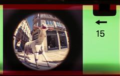 goat on main street (pho-Tony) Tags: camera old fish color colour eye film toy iso200 miniature lomography fuji 110 toycamera wide fisheye number novelty edge 200 frame pocket expired 16mm malaga toycameras markings 170 instamatic cartridge perforation fujicolor c41 subminiature arror tetenal 170degrees edgemarkings fisheyebaby110