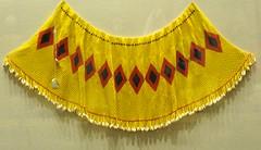 Cucapa Bead Cape Mexico (Teyacapan) Tags: mexico beads clothing mexican capes museo vestimenta chaquira kiliwa