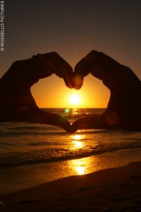 coeur de soleil (ROSSELLO Pictures) Tags: de soleil cur couch ocan