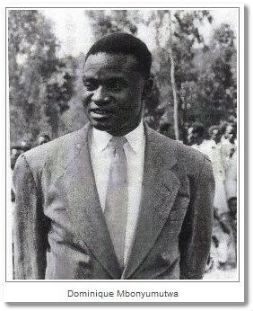 H.E. Dominique MBONYUMUTWA, First President of Rwanda