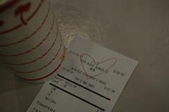 LOVE 49 (koborin) Tags: sanfrancisco california ca travel love night burger anchorage 49 hamburger receipt fishermanswharf innoutburger leavenworthstreet jeffersonstreet