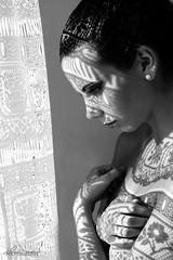 Abiti di Luce (Lucia Mondini) Tags: light portrait woman white black girl donna mujer eyes chica shadows retrato femme ombra wb nb bn yeux occhi ojos portraiture lacy fille ritratti bianco nero luce ragazza pizzo ricamo