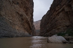 Santa Elena Canyon (USMCFieldMP) Tags: park camping mountain snow mountains rio river mexico grande big texas desert bend nps hiking peak tent hike basin trail national emory bigbend chisos
