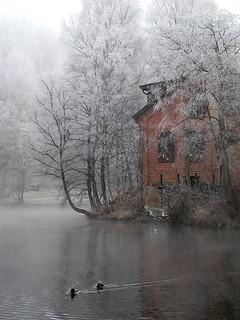 Stilla at Akerselva (The Aker River), Oslo