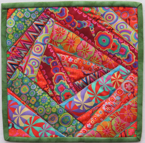 Mini Ribbon Crazy Quilt
