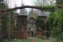 Kasteel G (DSC_9011) (beeveephoto) Tags: building castle abandoned overgrown belgium outdoor derelict dilapidated brickwork flanders urbex nohdr 50mmf14g nikond800e nikkor50mm14gafsd