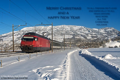 Re 460 Happy New Year 2014 (peter bertschi) Tags: 4600649