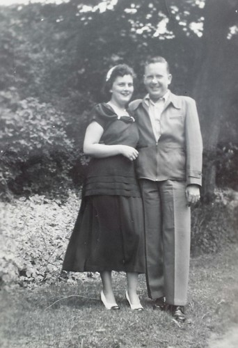 William Delvie Copeland and his wife Marjorie, 1950/51?