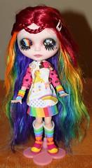 Myrtle's rainbow lids