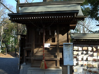 調神社の調宮天神社
