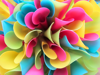 Bouquet of colored Spoon Straws
