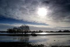 Langport floods (Twoshoes3) Tags: somerset floods langport vision:mountain=0795 vision:sunset=0609 vision:clouds=099 vision:outdoor=0974 vision:sky=099 vision:ocean=0813